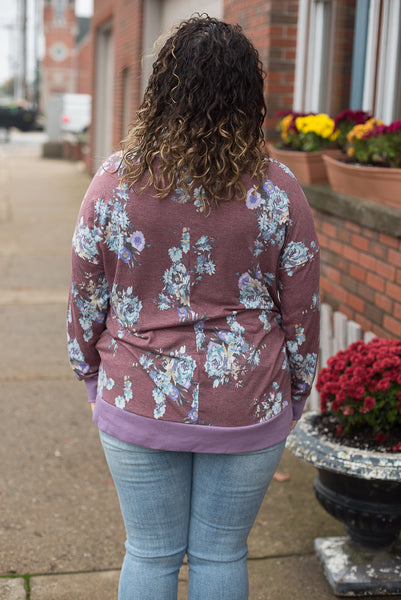 Winery Floral Top