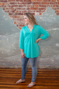 Spring Mint Gabby Top