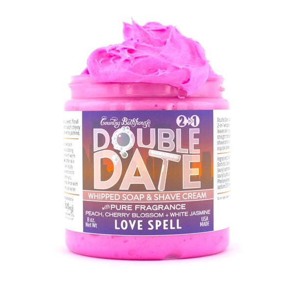 Double Date Shipped Soap & Shave Cream