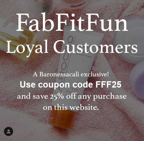 FabFitFun - Summer Box PROMO CODE: FFF25 on Tarocco-baronessacali.com
