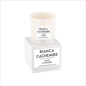 Linea Lusso Collection - 9 oz Candle - White Cashmere - Linea Lusso Collection - 9 oz Candle - White Cashmere