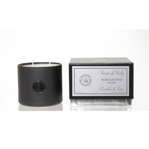 Scents of Sicily Collection - 18 oz soy candle - Agrigento (lavender/eucalyptus)