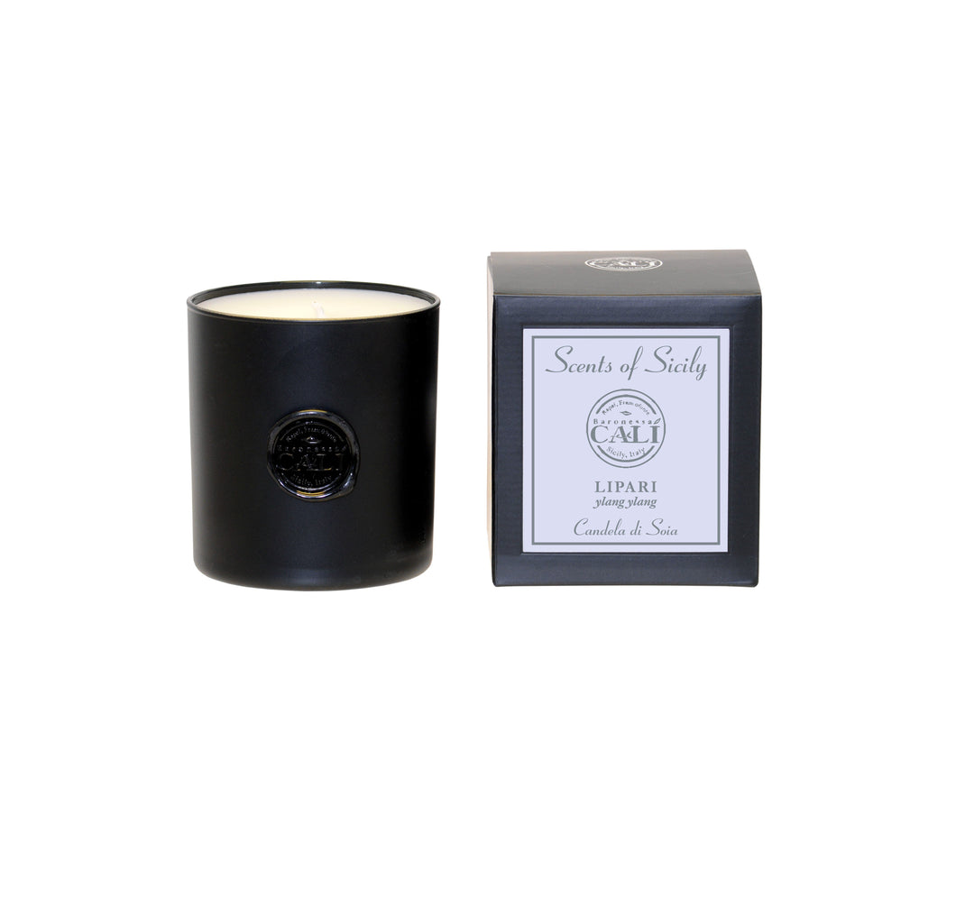 Scents of Sicily Collection - 9 oz soy candle - Lipari (ylang ylang) - Scents of Sicily Collection - 9 oz soy candle - Lipari (ylang ylang)