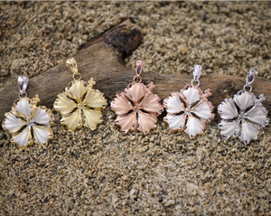 Hibiscus Pendants - Hawaiian Jewelry