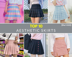 Top 10 Aesthetic Skirts [On SALE]