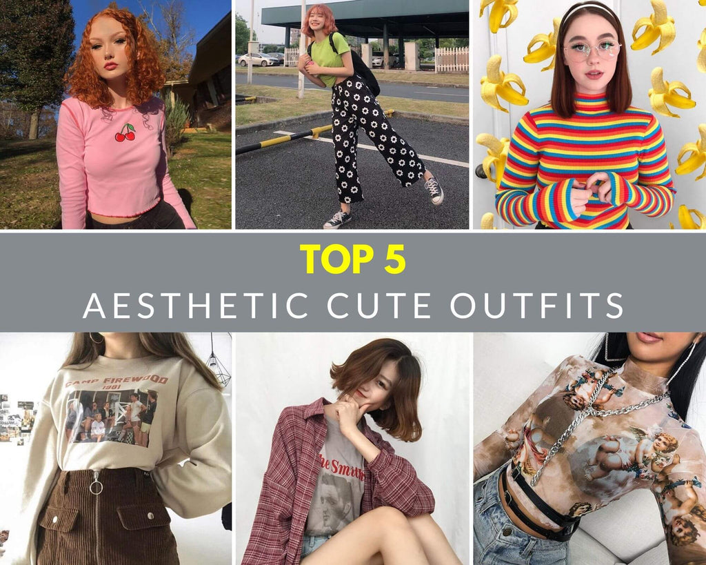 Top 5 Aesthetic Cute Outfits