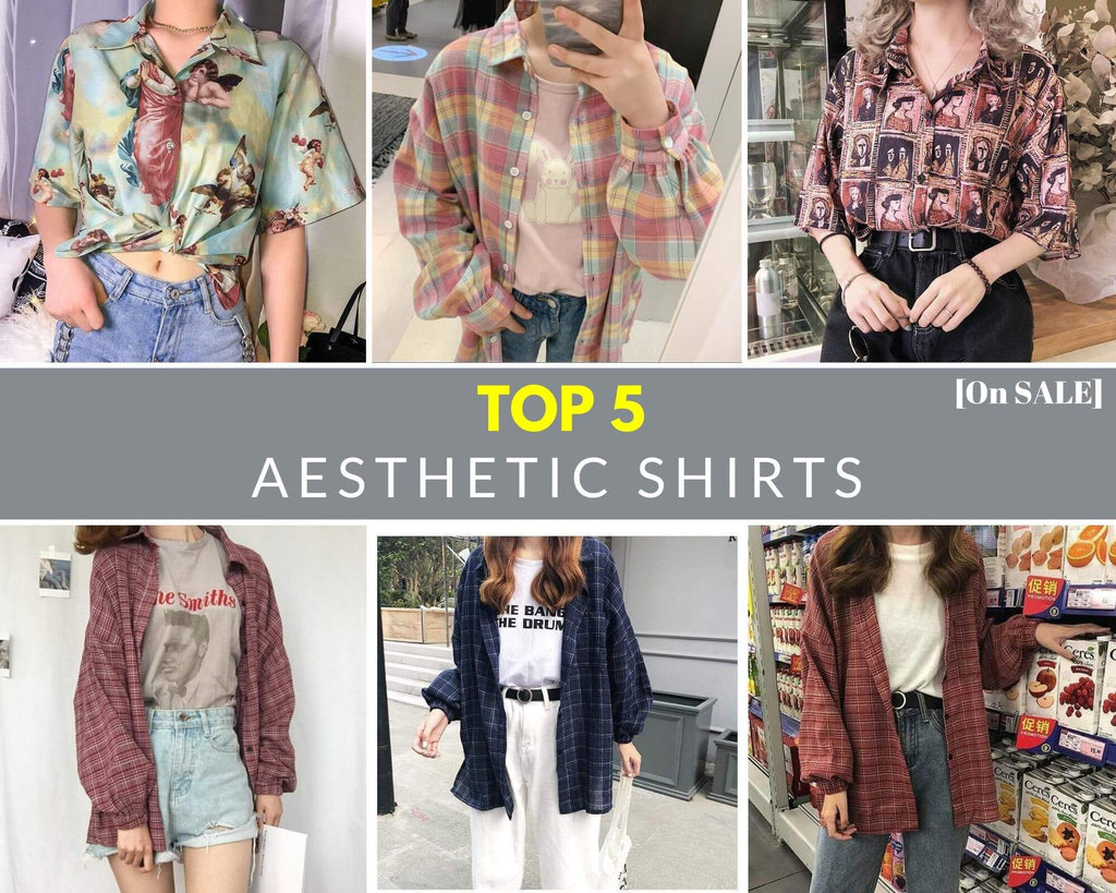 Top 5 Aesthetic Shirts [On SALE]