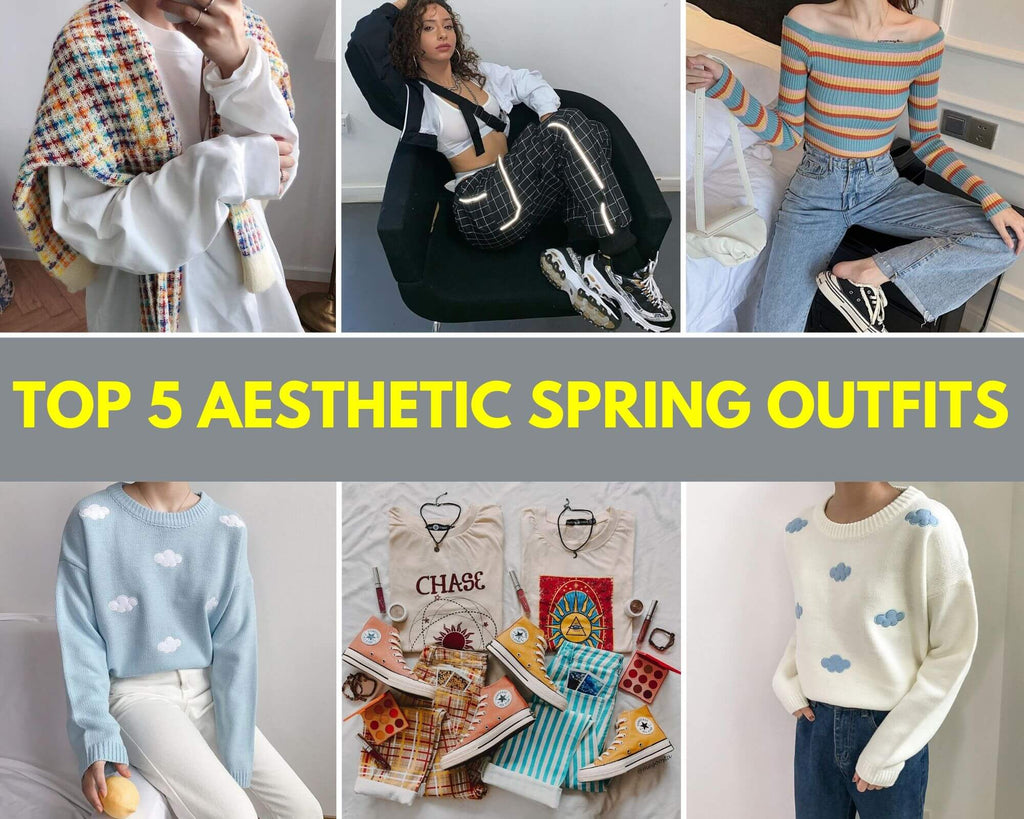 Top 5 Aesthetic Spring Outfits