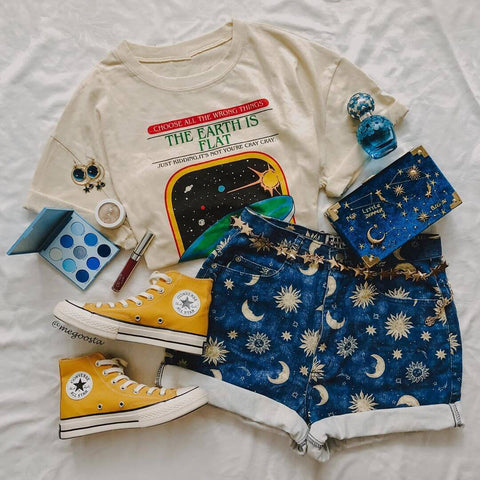 80s 90s Aesthetic Outfits Vintage - CosmiqueStudio
