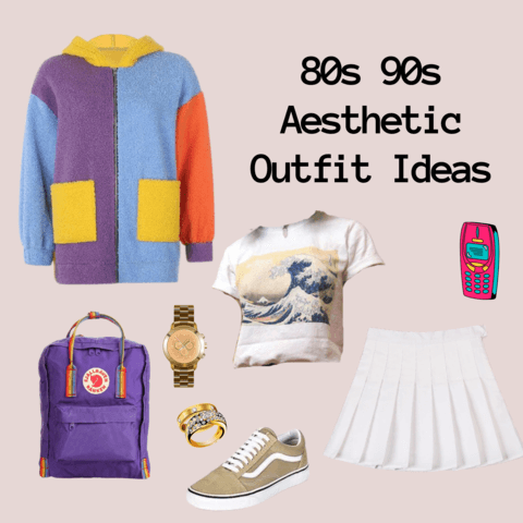 80s 90s vintage aesthetic outfits - cosmiquestudio