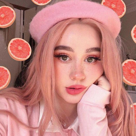 soft girl aesthetic makeup-cosmiquestudio-soft girl