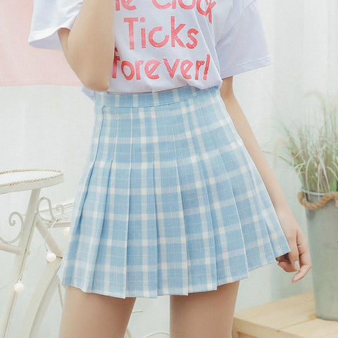AESTHETIC CUTE MINI SCHOOL SKIRT