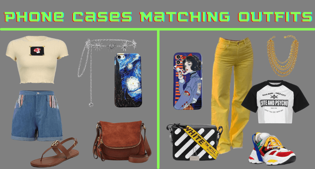 phone case matching outfits - cosmiquestudio