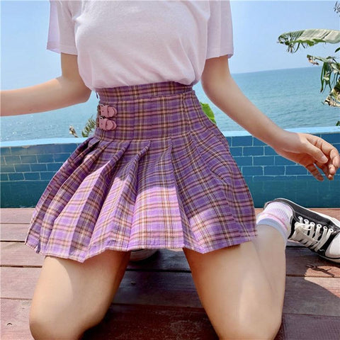 KAWAII STYLE SCHOOL MINI SKIRT