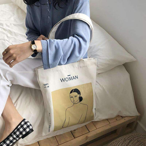 WOMAN CLOTH BAG