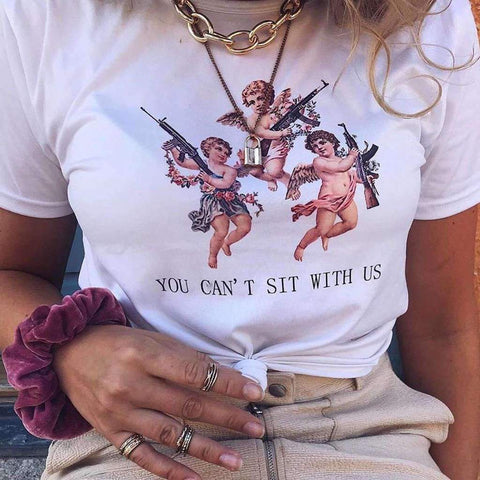 you-cant-sit-with-us-tee-white-cosmique-studio
