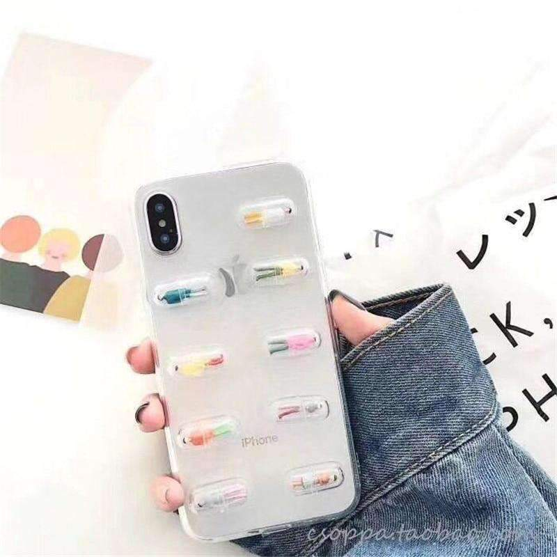 3D Pills Phone Case-Cosmique Studio