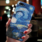 3D RELIEF VAN GOGH PHONE CASE-Cosmique Studio