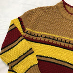 80S VINTAGE KNITTED SWEATER-Cosmique Studio - Aesthetic Clothing