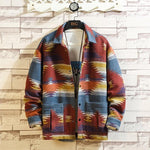 90S VINTAGE RETRO COLOR PRINTING JACKET-Cosmique Studio - Aesthetic Clothing