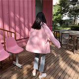 AESTHETIC PASTEL LOOSE CARDIGAN-Cosmique Studio-Aesthetic-Outfits