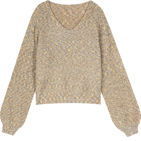 AUTUMN KNITTED LOOSE SWEATER-Cosmique Studio-aesthetic-clothing-store