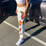 BUTTERFLY PRINTED STYLISH PANTS - Cosmique Studio