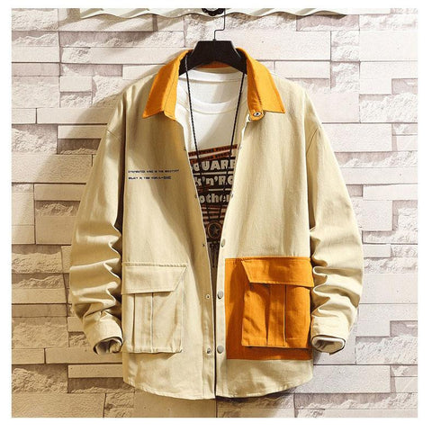 CHIC KOREAN STREETWEAR MEN JACKET-aesthetic-clothing-cosmiquestudio.com