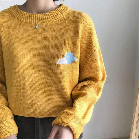 CLOUD ATLAS SWEATER-Cosmique Studio