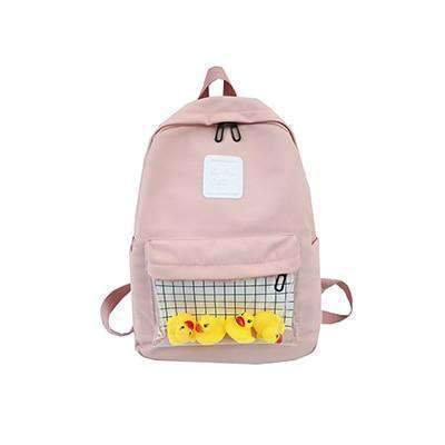 CUTE DUCK WATERPROOF BACKPACK-Cosmique Studio
