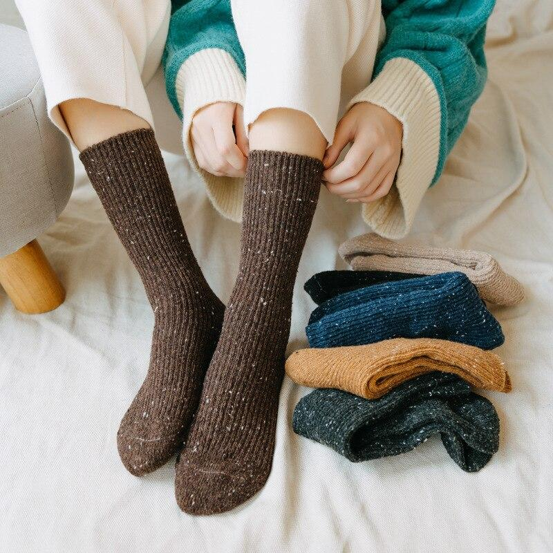 CUTE WARM WOOL SOCKS - Cosmique Studio - Aesthetic Outfits