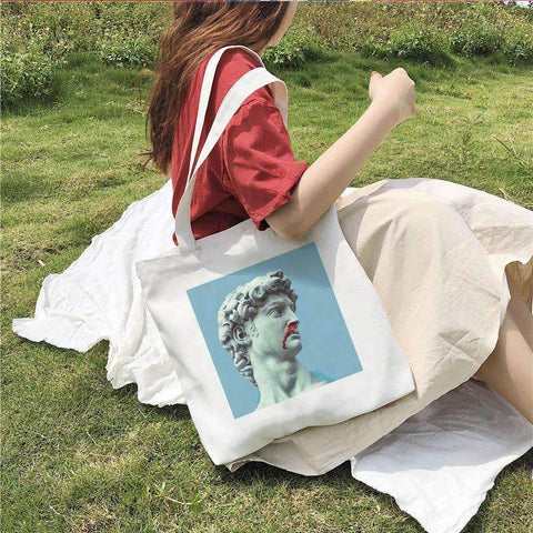 DAVID ART CLOTH BAG-Cosmique Studio