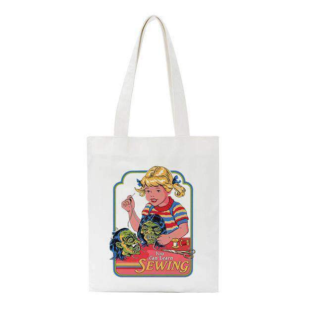 DEAL DEVIL CLOTH BAG-Cosmique Studio