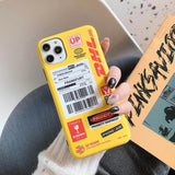 DHL IPHONE CASE-Cosmique Studio