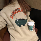 DINOSAUR SWEATER - Cosmique Studio