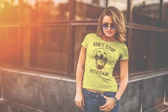 DON'T STOP RETRIEVIN TEE-Cosmique Studio