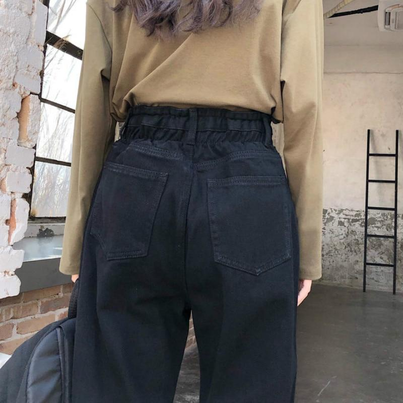EDGY BLACK HOLE DENIM PANTS - Cosmique Studio - Aesthetic Outfits