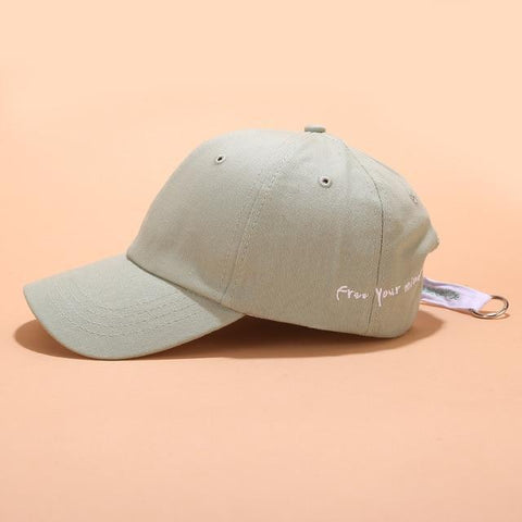 FREE YOUR MIND UNISEX CAP-Cosmique Studio