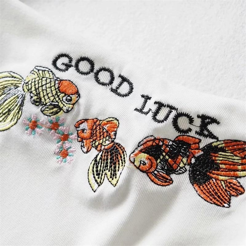 GOOD LUCK CROP TOP - Cosmique Studio