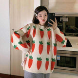 HARAJUKU CARROT SWEATER-Cosmique Studio
