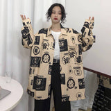 HARAJUKU STYLE LONG BLOUSE-aesthetic-clothing-cosmiquestudio.com
