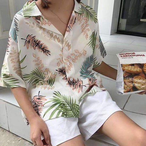 HAWAII STYLE SHIRT-Cosmique Studio