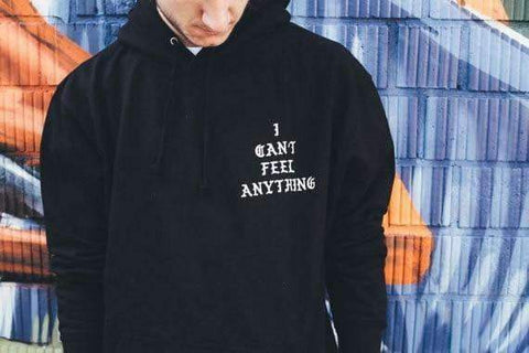 I CANT FEEL ANYTHING HOODIE-Cosmique Studio
