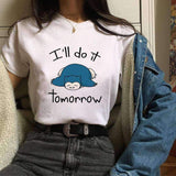 I'll DO IT TOMORROW TEE-Cosmique Studio