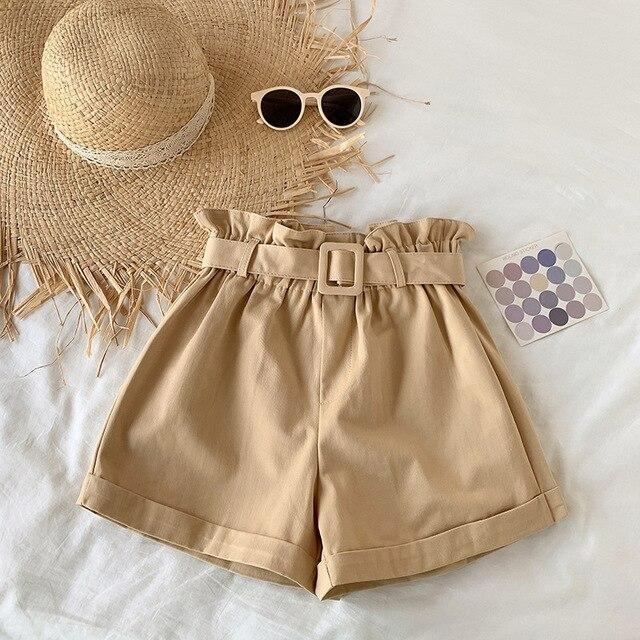 INDIE GIRL ELEGANT COTTON SHORTS - Cosmique Studio