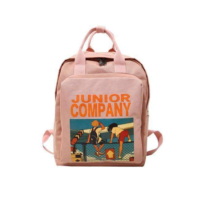 JUNIOR COMPANY RETRO BACKPACK-Cosmique Studio