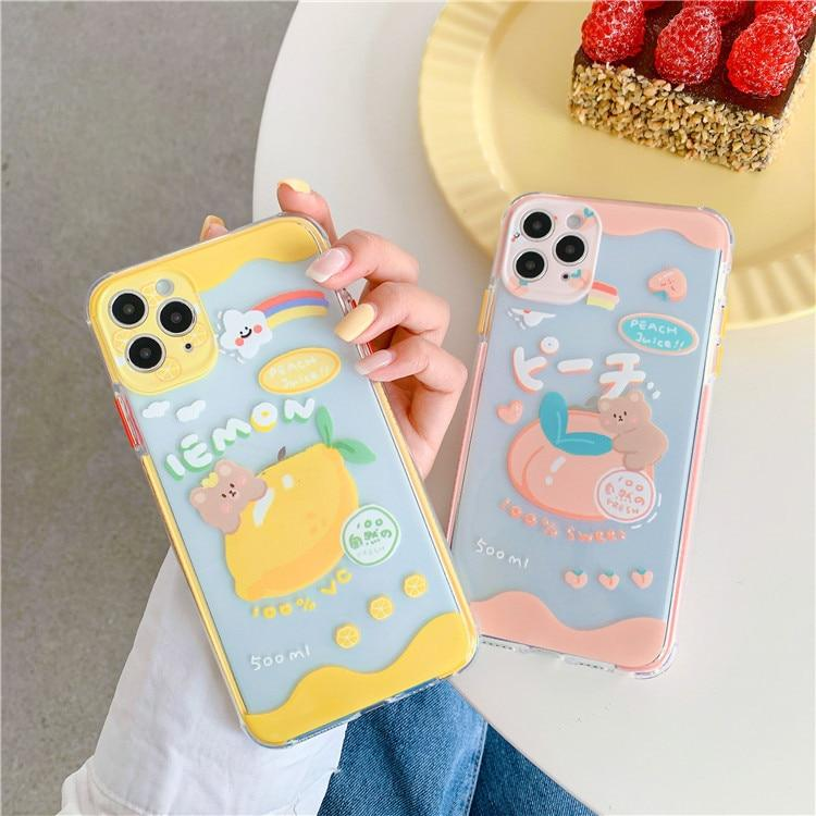 KAWAII SWEET FRUIT PHONE CASE - Cosmique Studio - Aesthetic Outfits