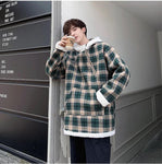 KOREAN STYLE CASUAL HOODED MEN JACKET-aesthetic-clothing-cosmiquestudio.com