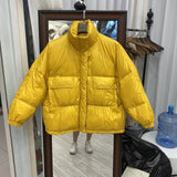 KOREAN STYLE SOFT PUFFER JACKET
