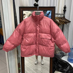 KOREAN STYLE SOFT PUFFER JACKET-Cosmique Studio-Aesthetic-Outfits